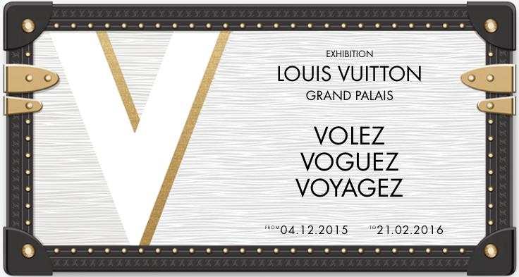 """""""Volez, Vougez, Voyagez – Louis Vuitton"""" på Grand Palais i Paris"""